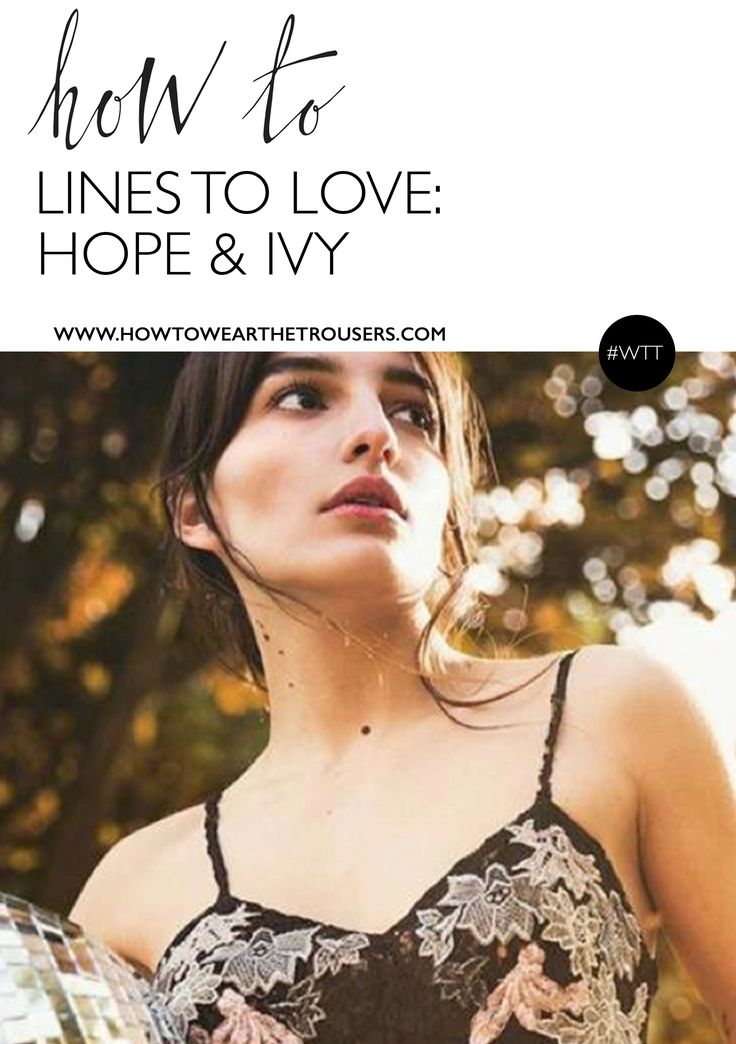 Lines to Love: Hope & Ivy >>  Hope & Ivy is a British fashion brand that was introduced to me a couple of months ago. The pieces are epitomised by beautiful embroidery, they exude femininity with that all important bohemian-edge; Naturally I was intrigued! <3  Click through to read all about the brand >>