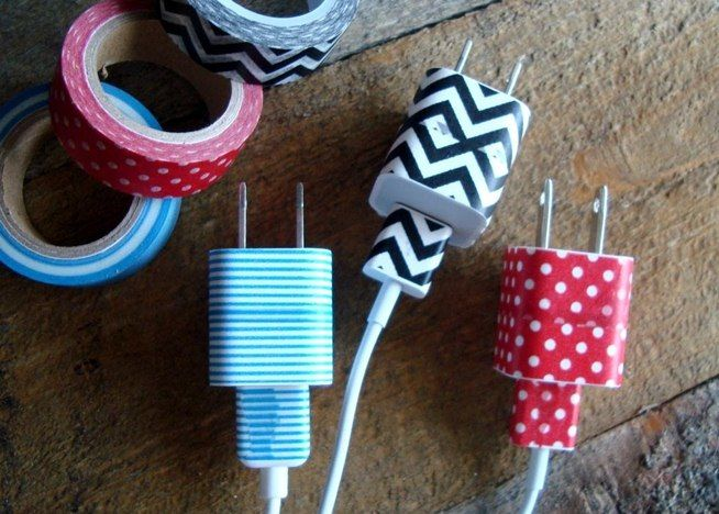 How to Organize Cords, Customize Your Keyboard, & Make Your Desk Nonslip with DIY Fabric Tape « MacGyverisms