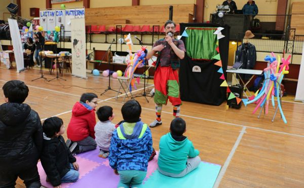Con Feria Construyendo Estilos de Vida Saludable desde la Infancia celebran 10 años de Chile Crece Contigo - Radio Las Nieves