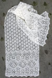 St. Ninian's Scarf - Jamieson and Smith, Real Shetland Wool, Fair Isle Knitting, Shetland Wool, Knitting Patterns, Yarn