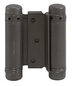 "Oil Rubbed Bronze - Bommer Double Acting Mortise Spring Hinges Multiple Sizes (3"" - 8"") - Single Hinge"
