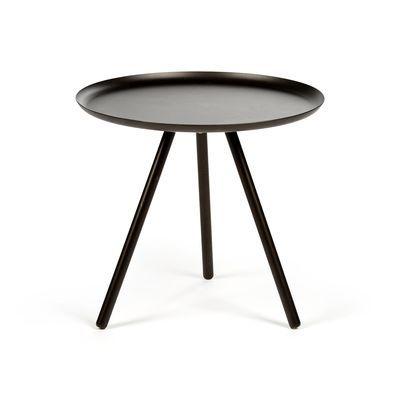 Beistelltisch Metall schwarz ca D:40 x H:36 cm 40€
