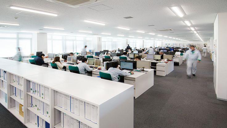 シンフォニアテクノロジー株式会社 豊橋製作所 技術開発センター | ITOKI Lightbox イトーキ事例集