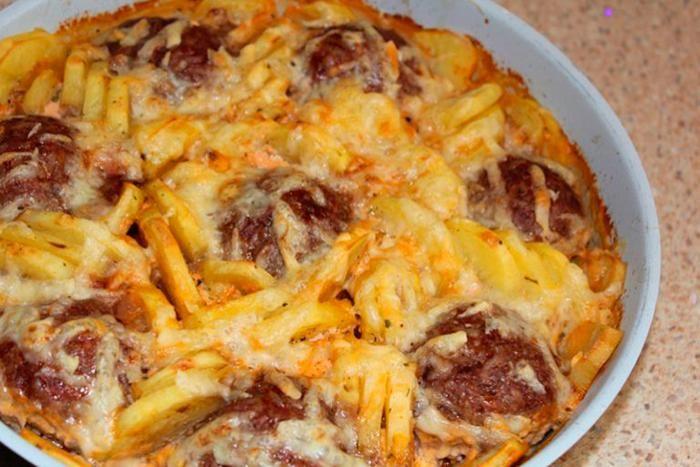Накормите семью с помощью всего лишь 200 грамм фарша: обалденный бюджетный ужин