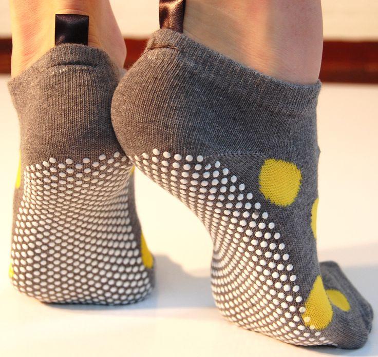 Pilates grip socks @ www.streetstudio.com.au