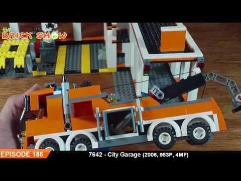 LEGO City Garage Review : LEGO 7642 - YouTube