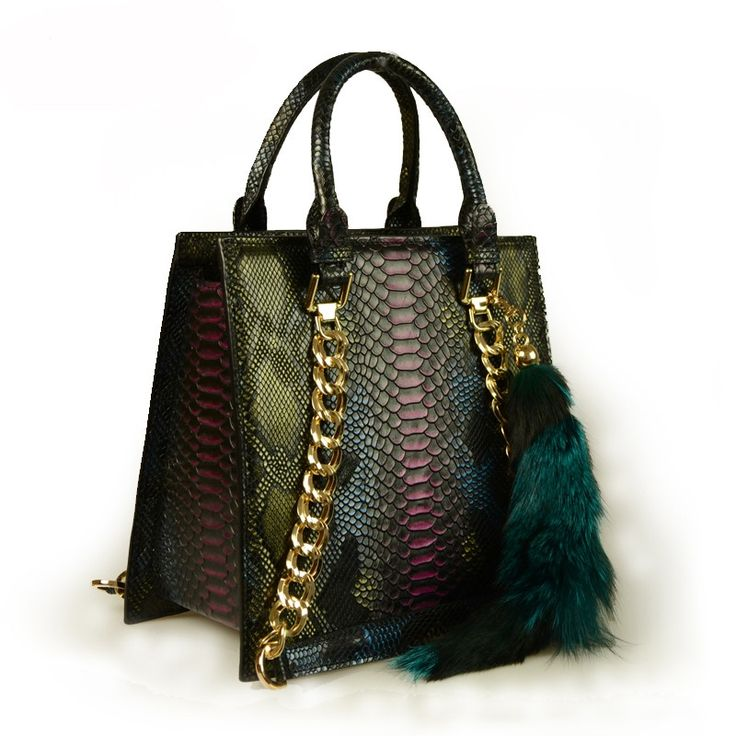 Женская модная зеленая сумка fashion Chanel в интернет-магазине Шопоголик