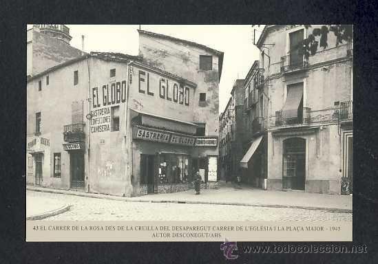 Calendario Imatges del Sabadell antic del 1999: Carrer de la Rosa al 1945 (num.43) - Foto 1
