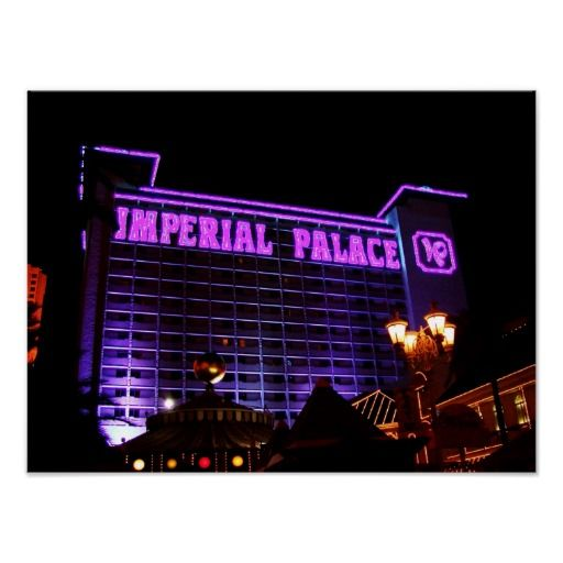 Imperial Palace Las Vegas Poster by urbanphotos.net