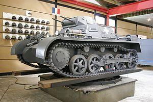 PzKpfw I Ausf.A - Light tank (serial)