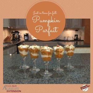 Have you ever wondered what makes pumpkins orange? It's Beta-Carotene! Beta-carotene is a carotenoid that can be converted into a form of vitamin A in the body. Vitamin A helps form and maintain healthy skin, teeth, skin, and promotes good vision, especially in low light. These yummy pumpkin pie parfaits are a delicious way to …
