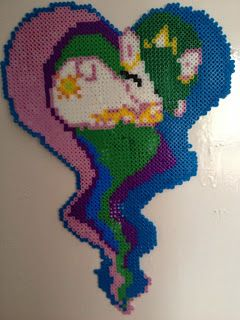 The May edition of SIPIDI! over at My (not so) Simple Life ~ Princess Celestia made from Hama beads