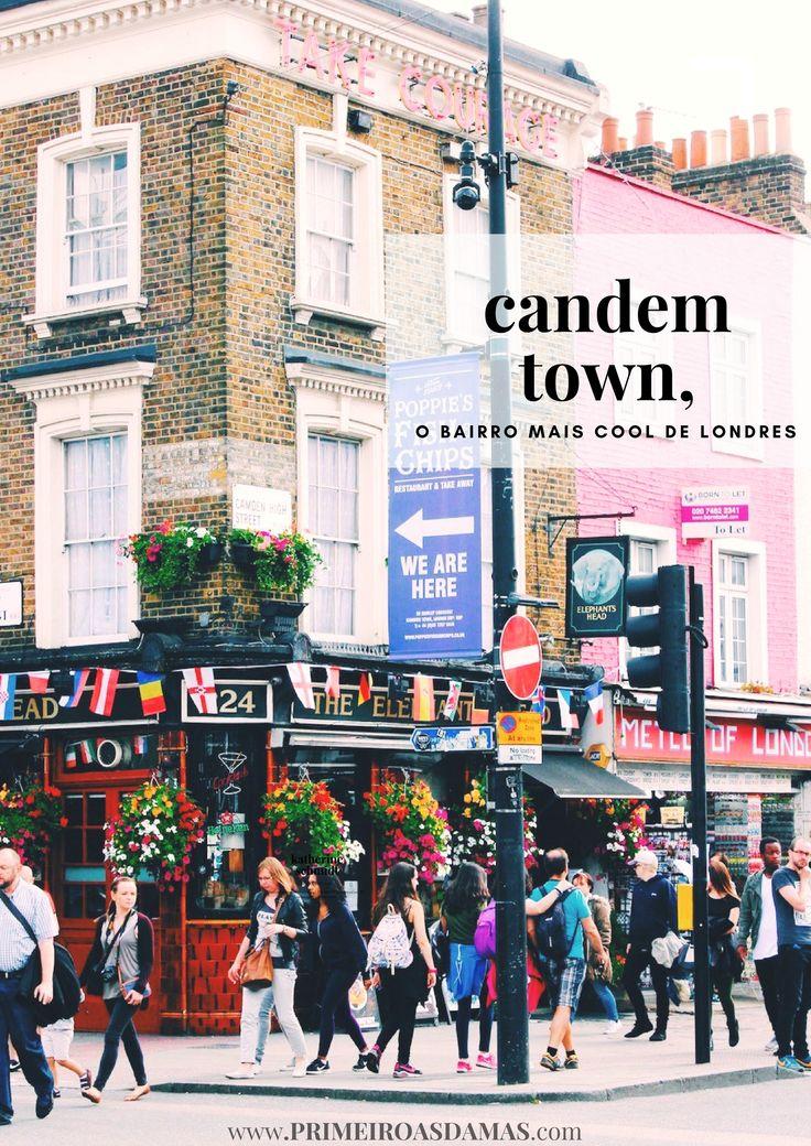 Descolada e vanguardista! Candem Town, em Londres, deve estar no roteiro de viagens de quem ama música e cultura pop.