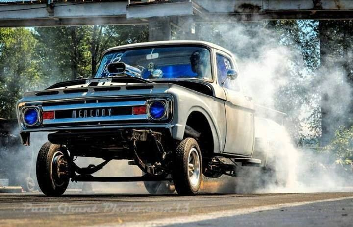 Ford Gasser Pickup | Ford Broncos and Trucks | Pinterest ...