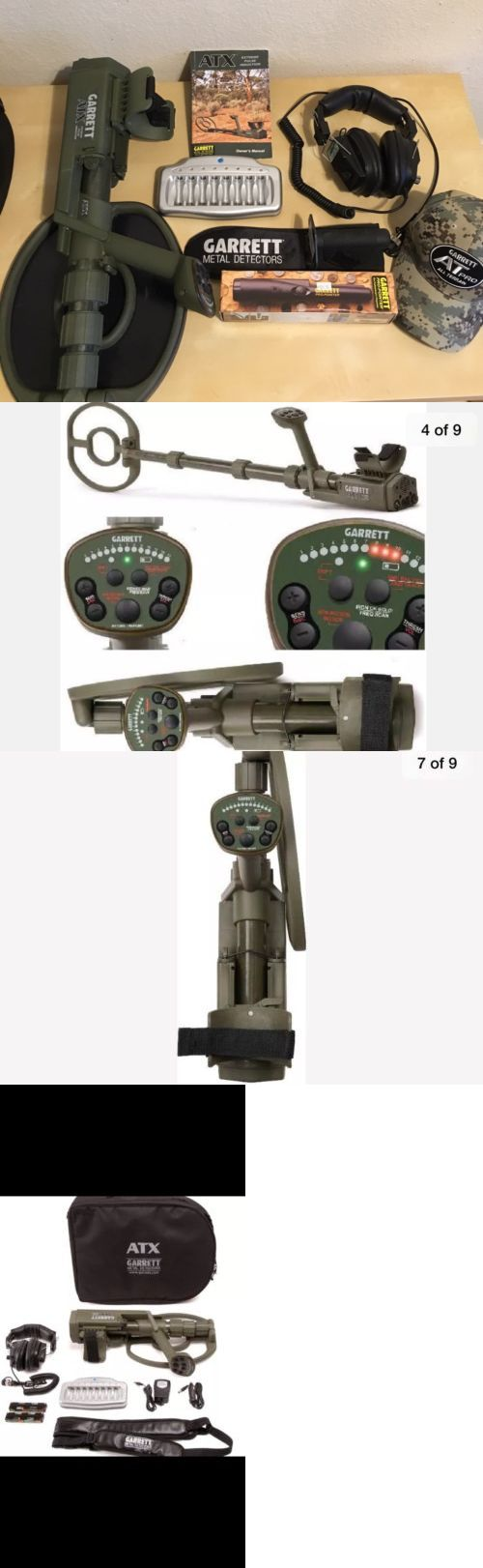 Metal Detectors: Garrett New Atx Extreme Pulse Induction Relic Beach Gold Metal Detector -> BUY IT NOW ONLY: $1800.0 on eBay!