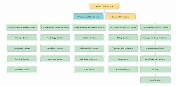Hospital Organizational Chart Examples Fresh What Is The Organization Structure Of A Hospital Quora In 2020 Organizational Chart Organizational Powerpoint Charts