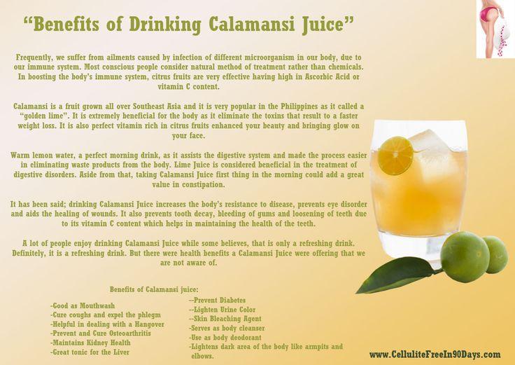Benefits of Drinking Calamansi Juice. | health fun facts ...