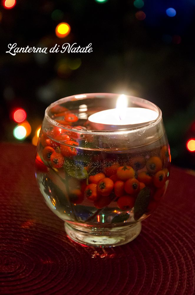Decorazione facile per la tavola di Natale