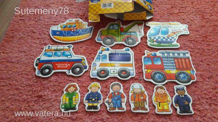 BS Játék - Puzzle inkább fiúknak - nagyformájú , pár darabos - 900 Ft - Nézd meg Te is Vaterán - Hagyományos puzzle - http://www.vatera.hu/item/view/?cod=2508579140