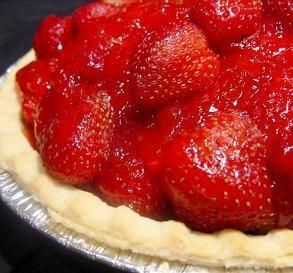 "Easy Strawberry Pie: ""I have been making this pie for years. I always receive compliments on the flavor, and it looks so pretty."" –Lorianne"