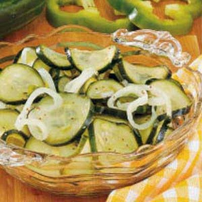 Sweet 'N' Tangy Freezer Pickles Recipe