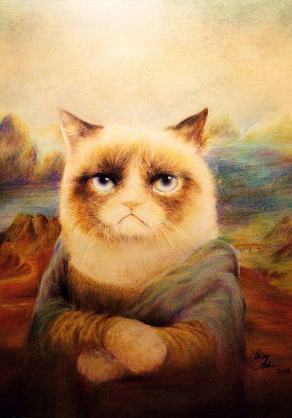 30 immagini divertenti sulla Gioconda: le migliori re-interpretazioni artistiche di alto livello in chiave moderna! | WasterpieceWasterpiece