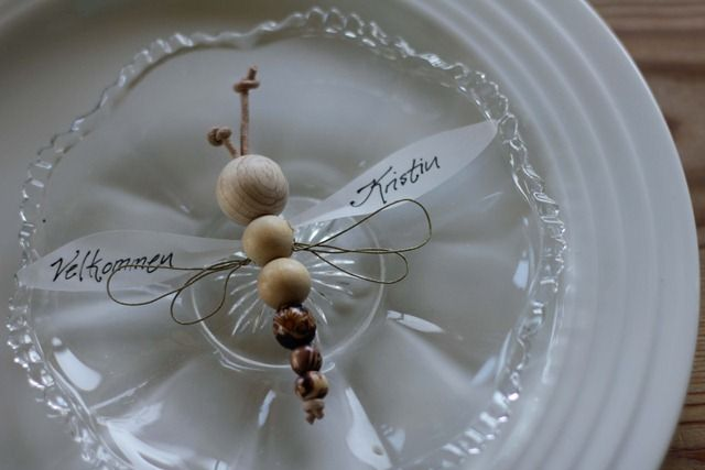 åpent hus: Kule kuler / wooden beads