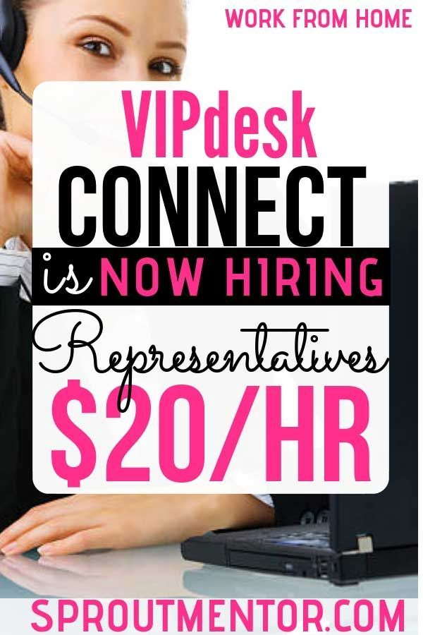 VIPdesk Connect Is Now Hiring Customer Care Representatives