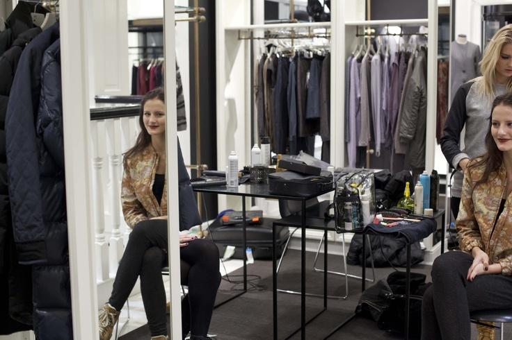 Model getting ready by: Anders Von Greffelstejn