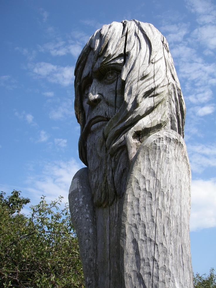 Kap Arkona, Island of Rugen, Germany - A Slavic god