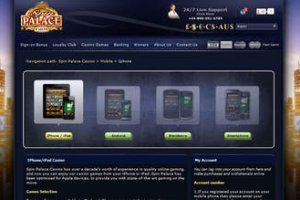 Casino games spin palace online