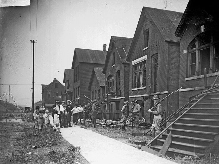 chicago race riots | Chicago race riots - a picture from the past | Art and design ...