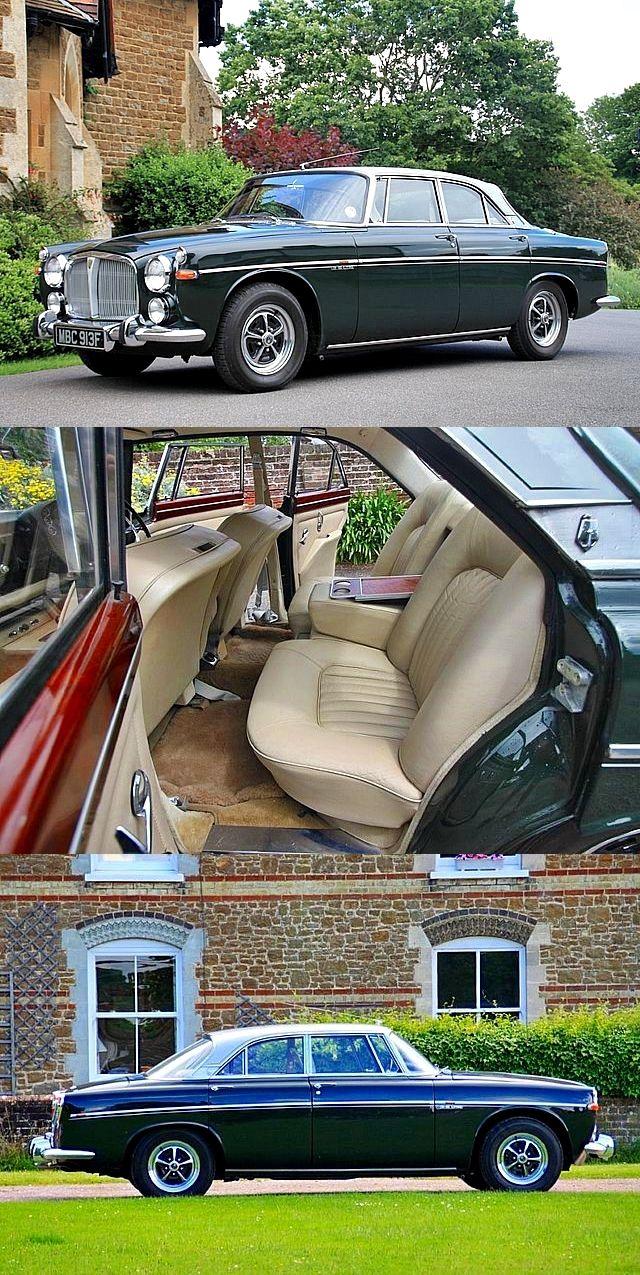 1968 Rover P5b 3.5 V8 Coupe.