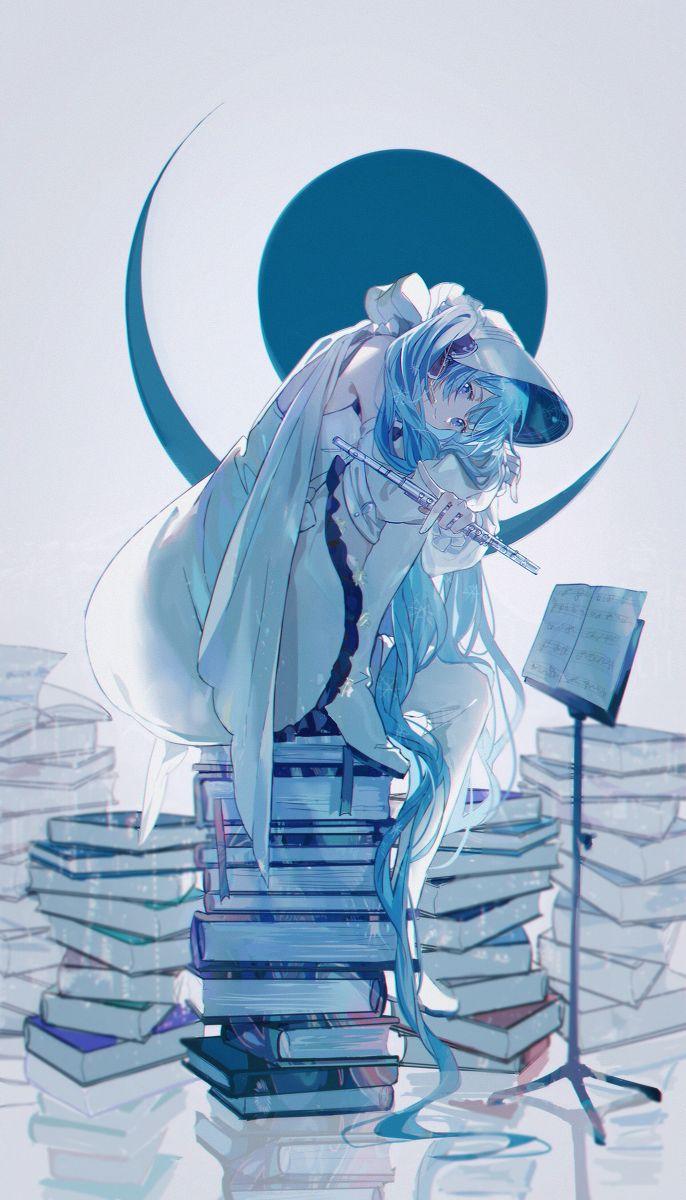 [雪ミク2020] ️ KANOSE's illustrations pixiv 初音ミク 可愛い