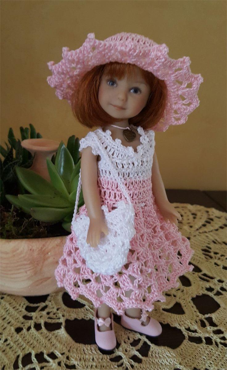 130- FICHE PATRON CROCHET Ensemble Clélie pour poupée Heartstring Doll : Jeux, jouets par atelier-crochet