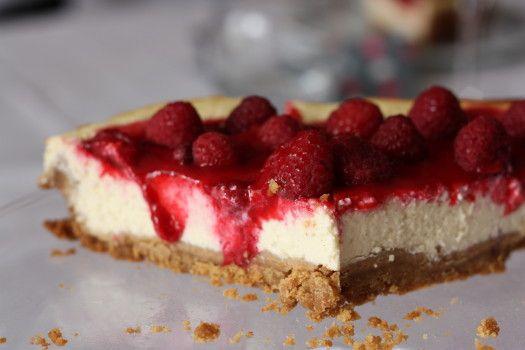 Se régaler avec thermomix : Cheesecake vanille au coulis de fraises