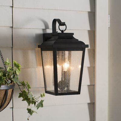 Minka Lavery Irvington Manor 3-Light Outdoor Wall Lantern