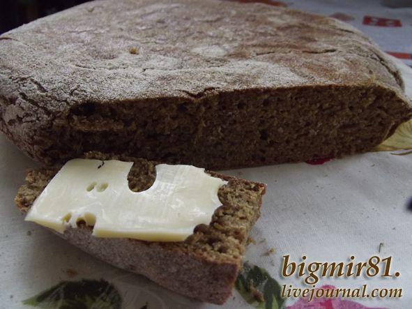 Ржаной хлеб испеченый на сковороде - Мой журнал