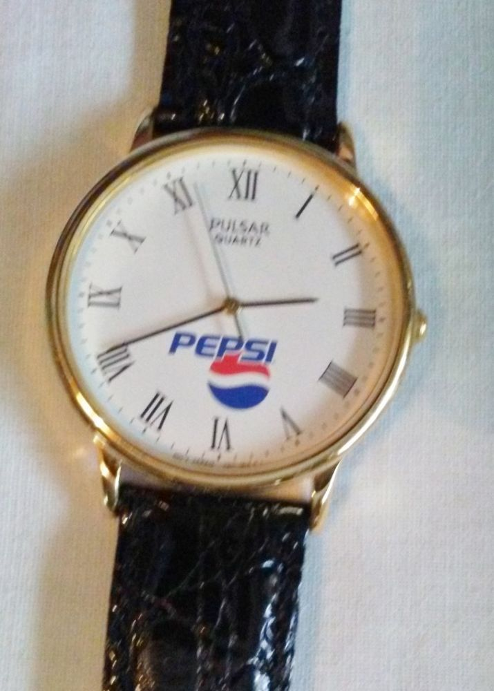 Pulsar Pepsi Men's Watch V501-OA50 Working New Battery #Pulsar