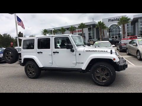 2018 Jeep Wrangler Jk Unlimited Orlando Deltona Sanford Oviedo Winter Park Fl L871358 Fieldscjdr Sanford Florida Car Suv