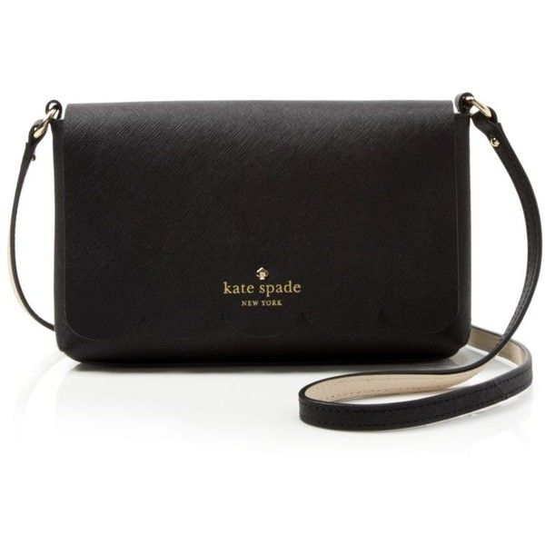 kate spade new york Crossbody - Lily Avenue Carah ($178) ❤ liked on Polyvore featuring bags, handbags, shoulder bags, lily purses, kate spade, saffiano leather handbag, kate spade crossbody and lily handbags