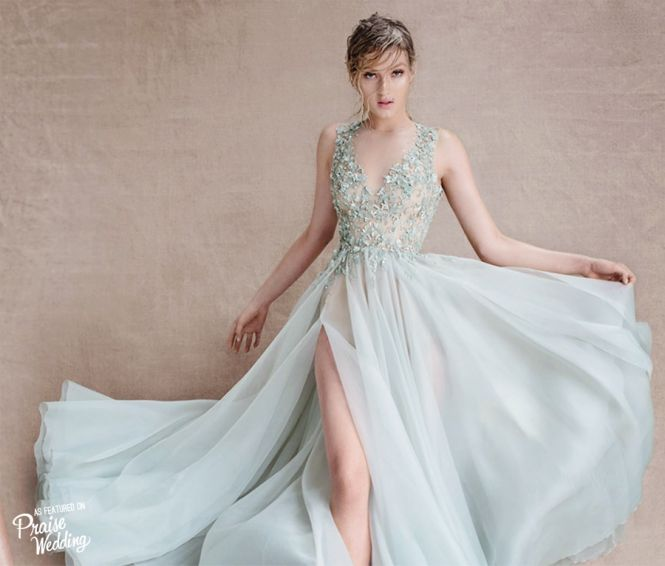 Paolo Sebastian Sirens of the Sea gown. I need this.
