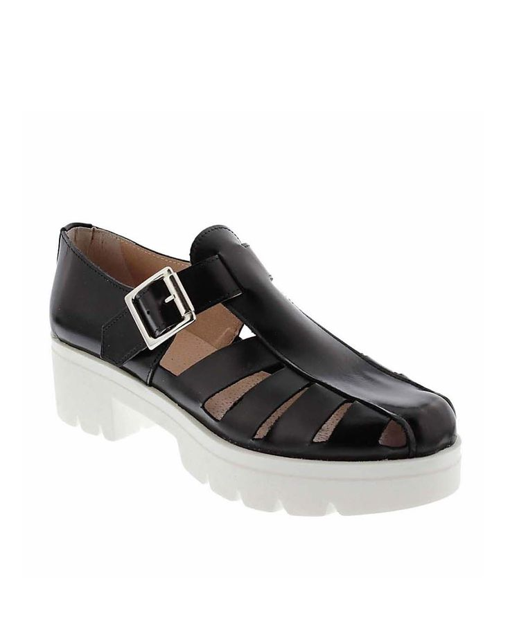 Zapatos plataforma VAS negro 23500