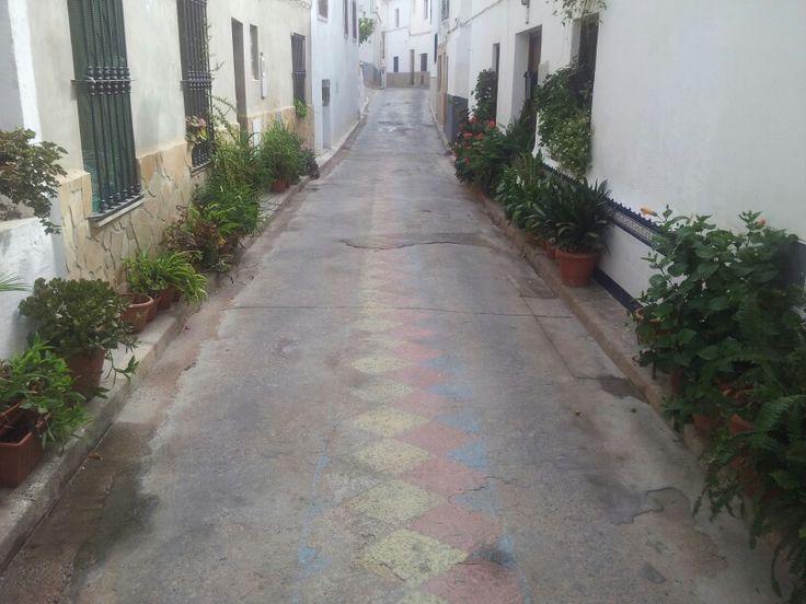 Calle Valencia. Gestalgar.