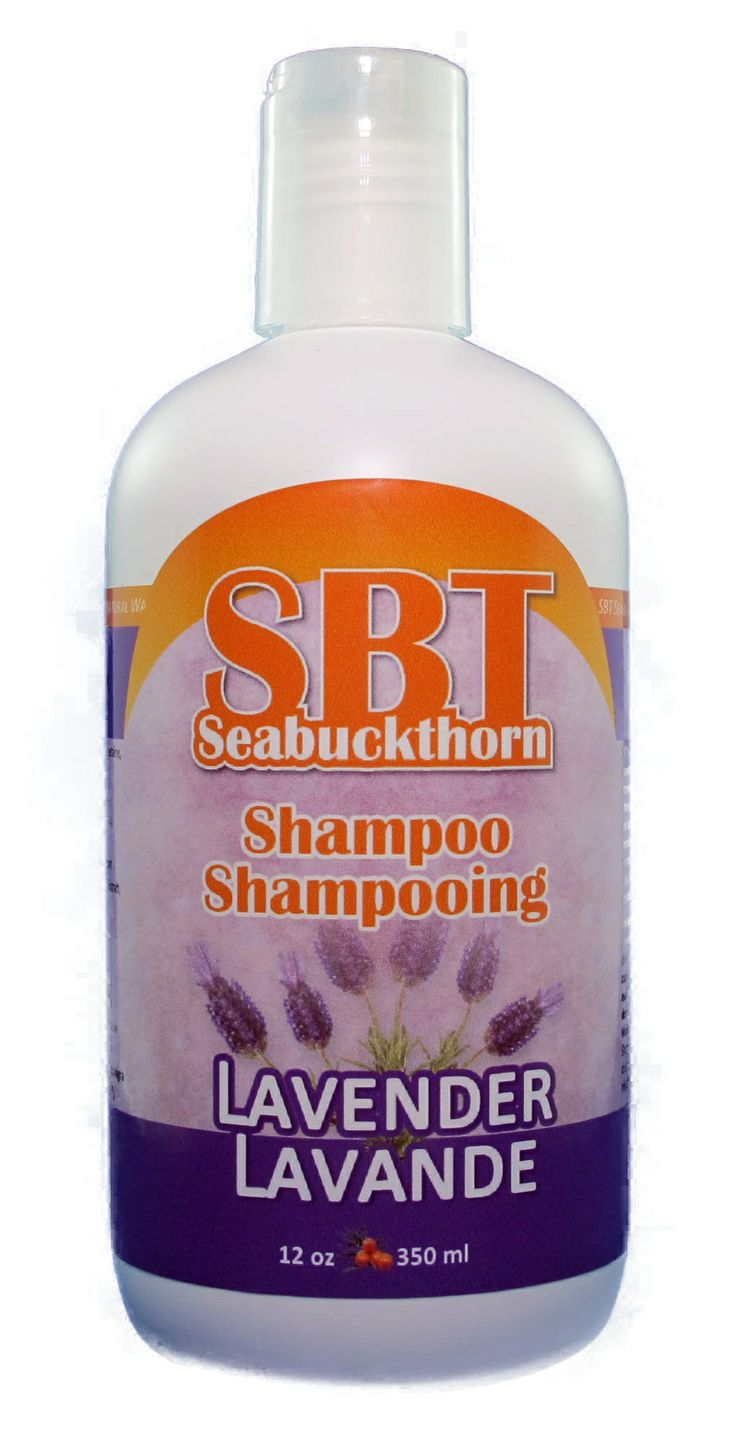 SBT Seabuckthorn Therapeutic Lavender Shampoo contains lavender essential oil to promote new hair growth and prevent shedding by increasing blood circulation to the scalp. SBT Seabuckthorn Oils with other nourishing botanicals lock in color by strengthening the hair shaft and supply valuable nutrients to the scalp and hair. SLS free, DEA free, Paraben free. Contains 1/3 more than the Original SBT Seabuckthorn Shampoo. $19.95