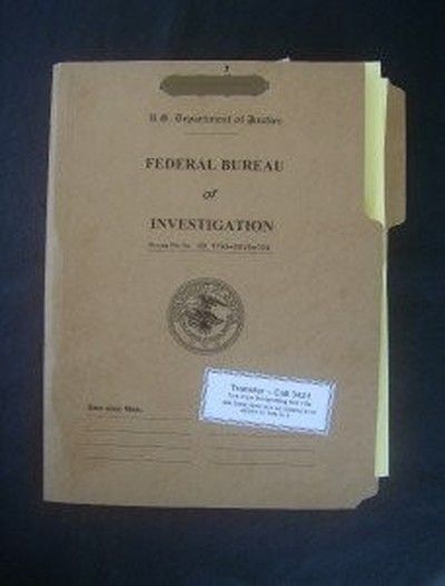 starling u0026 39 s fbi buff  bill case file folder  prop