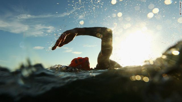 Open water swimming is freedom