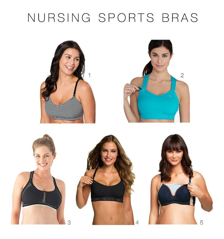 Full-Bust Sports Bras That Are Actually Cute (Nursing Sports Bras, too!)