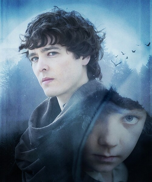 Mordred as portrayed by Asa Butterfield and Alexander Vlahos