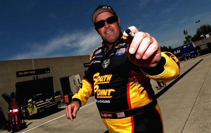 At-track photos: Indianapolis Motor Speedway Sunday, July 23, 2017 Brendan Gaughan, driver of the No. 62 South Point Hotel & Casino Chevrolet, walks through the garage area during practice for the NASCAR XFINITY Series Lilly Diabetes 250 at Indianapolis Motor Speedway on July 21, 2017 in Indianapolis, Indiana. Photo Credit: Sean Gardner/Getty Images Photo: 71 / 77